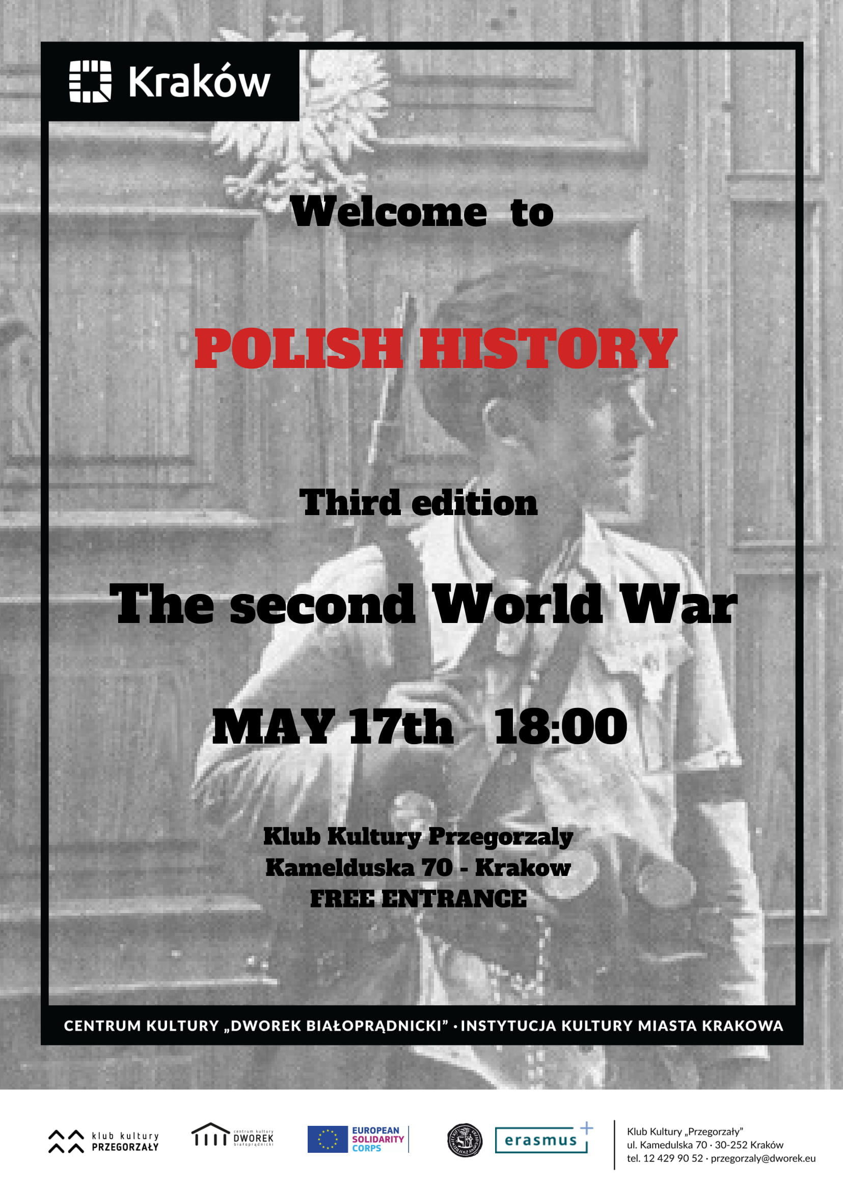 Polish History vol. 3 - The Second World War - Warsztaty w języku angielskim